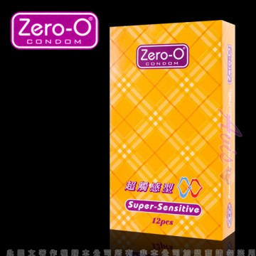 ZERO-O-零零超觸感型保險套(12入裝)