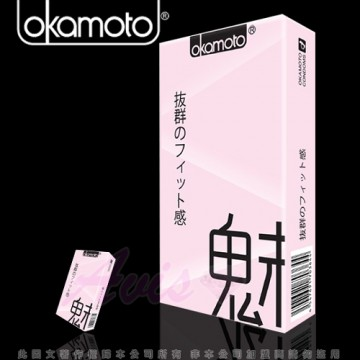 Okamoto岡本-City-Fit 緊魅型 保險套(10入裝)